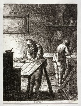 Glaziers from the series Crafts and Trades (reverse copy)