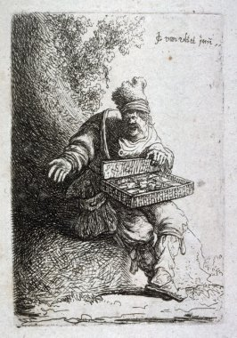 Pedlar from the series Beggars and other low life