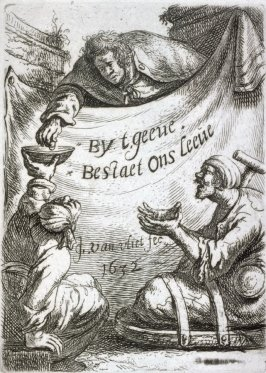 Title page from the series Beggars and other low life