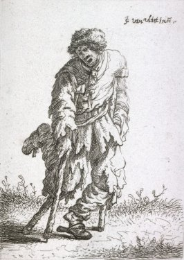 Beggar with a Wooden Leg from the series Beggars and other low life