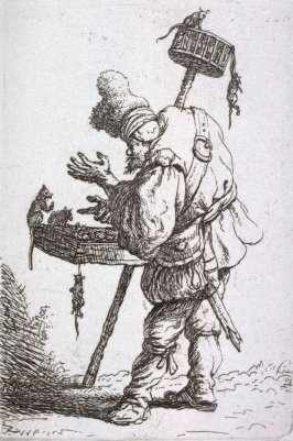 The Rat-Catcher from the series Beggars and other low life