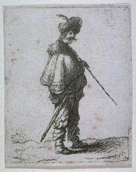 Man Wearing Turban and Cloak from the series Various Full-Length Figures