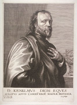 Sir Kenelm Digby, from The Iconography