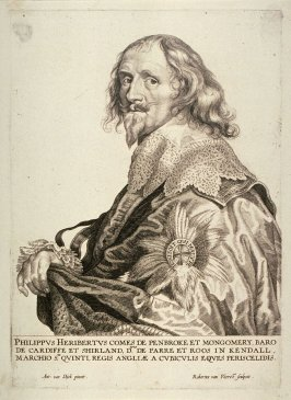 Philip Herbert, Earl of Montgomery and 4th Earl of Pembroke, from The Iconography