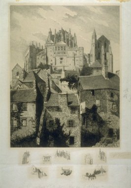 Mont St. Michel-View of the Abbey