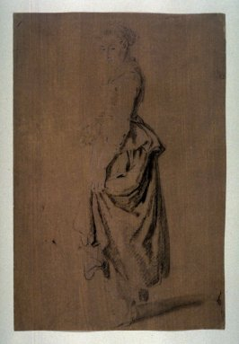 Study of Standing Female Figure, Turned to the Left