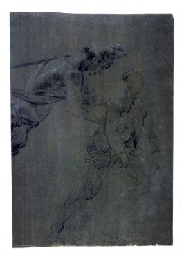 Studies of Two Male Figures, One Without a Coat