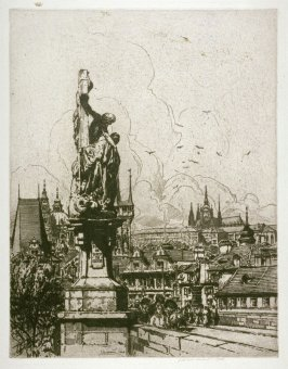 View from the Bridge of Charles IV, Prague