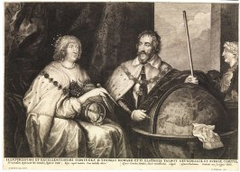 Thomas Howard, 2nd Earl of Arundel, and Alathea (Talbot) Countess of Arundel