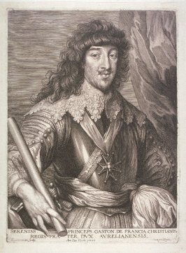 Gaston de France, duc d' Orléans, from The Iconography