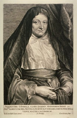 Isabella Clara Eugenia, Archduchess and Infanta of Spain, from The Iconography