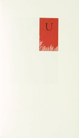 """""""U,"""" in the book Zebra Noise with a flatted seventh by Richard Wagener (Berkeley, CA: Peter Koch, 1998)"""