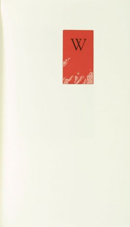 """""""W,"""" in the book Zebra Noise with a flatted seventh by Richard Wagener (Berkeley, CA: Peter Koch, 1998)"""