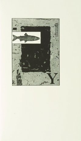 """""""Yellowstone cutthroat trout, Salmo clarki bouviere,"""" in the book Zebra Noise with a flatted seventh by Richard Wagener (Berkeley, CA: Peter Koch, 1998)"""