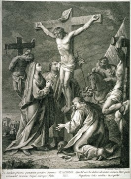 The Crucifixion, Station XII from a series, Via Crucis