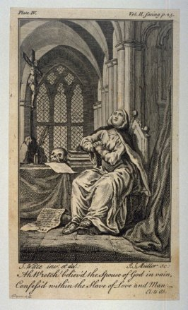 Ah Wretch! believ'd the Spouse of God in vain, Confess's within the Slave of Love and Man