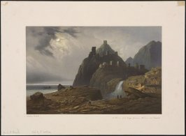 Plate 40. Ruins of a Large Genoese Fortress at Sudak