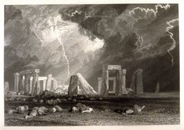 Stonehenge, no. 3 from Part VII of the series 'Picturesque Views in England and Wales'