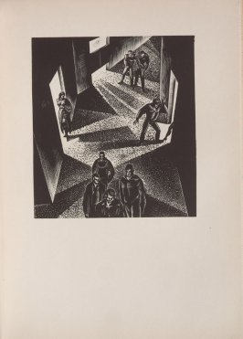 Untitled, illustration 3, in the book Wild Pilgrimage by Lynd Kendall Ward (New York: Harrison Smith & Robert Haas, 1932)