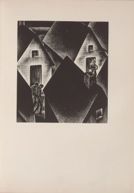 Untitled, illustration 4, in the book Wild Pilgrimage by Lynd Kendall Ward (New York: Harrison Smith & Robert Haas, 1932)