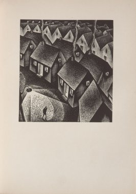 Untitled, illustration 5, in the book Wild Pilgrimage by Lynd Kendall Ward (New York: Harrison Smith & Robert Haas, 1932)