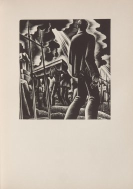 Untitled, illustration 6, in the book Wild Pilgrimage by Lynd Kendall Ward (New York: Harrison Smith & Robert Haas, 1932)