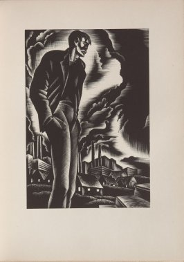 Untitled, illustration 7, in the book Wild Pilgrimage by Lynd Kendall Ward (New York: Harrison Smith & Robert Haas, 1932)