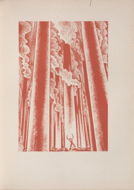 Untitled, illustration 8, in the book Wild Pilgrimage by Lynd Kendall Ward (New York: Harrison Smith & Robert Haas, 1932)