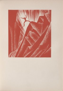 Untitled, illustration 11, in the book Wild Pilgrimage by Lynd Kendall Ward (New York: Harrison Smith & Robert Haas, 1932)