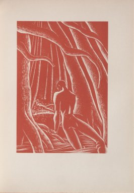 Untitled, illustration 13, in the book Wild Pilgrimage by Lynd Kendall Ward (New York: Harrison Smith & Robert Haas, 1932)