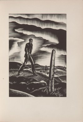 Untitled, illustration 14, in the book Wild Pilgrimage by Lynd Kendall Ward (New York: Harrison Smith & Robert Haas, 1932)
