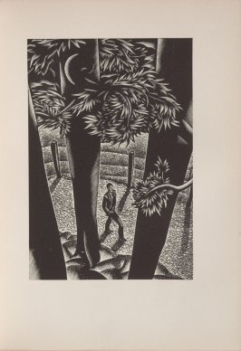 Untitled, illustration 15, in the book Wild Pilgrimage by Lynd Kendall Ward (New York: Harrison Smith & Robert Haas, 1932)
