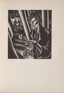 Untitled, illustration 19, in the book Wild Pilgrimage by Lynd Kendall Ward (New York: Harrison Smith & Robert Haas, 1932)