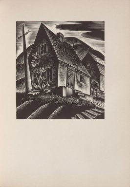 Untitled, illustration 21, in the book Wild Pilgrimage by Lynd Kendall Ward (New York: Harrison Smith & Robert Haas, 1932)