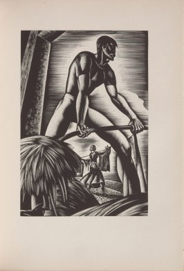 Untitled, illustration 24, in the book Wild Pilgrimage by Lynd Kendall Ward (New York: Harrison Smith & Robert Haas, 1932)