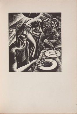 Untitled, illustration 25, in the book Wild Pilgrimage by Lynd Kendall Ward (New York: Harrison Smith & Robert Haas, 1932)