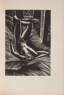 Untitled, illustration 27, in the book Wild Pilgrimage by Lynd Kendall Ward (New York: Harrison Smith & Robert Haas, 1932)