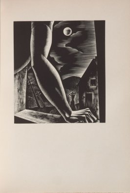 Untitled, illustration 28, in the book Wild Pilgrimage by Lynd Kendall Ward (New York: Harrison Smith & Robert Haas, 1932)