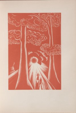 Untitled, illustration 29, in the book Wild Pilgrimage by Lynd Kendall Ward (New York: Harrison Smith & Robert Haas, 1932)