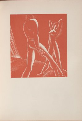 Untitled, illustration 33, in the book Wild Pilgrimage by Lynd Kendall Ward (New York: Harrison Smith & Robert Haas, 1932)