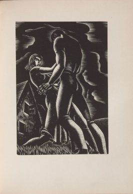 Untitled, illustration 35, in the book Wild Pilgrimage by Lynd Kendall Ward (New York: Harrison Smith & Robert Haas, 1932)
