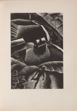 Untitled, illustration 37, in the book Wild Pilgrimage by Lynd Kendall Ward (New York: Harrison Smith & Robert Haas, 1932)