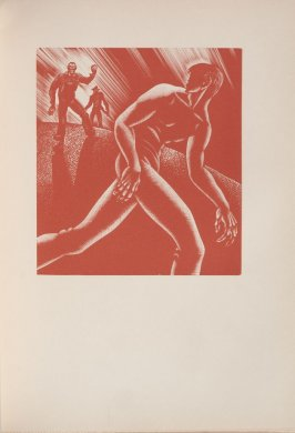 Untitled, illustration 39, in the book Wild Pilgrimage by Lynd Kendall Ward (New York: Harrison Smith & Robert Haas, 1932)