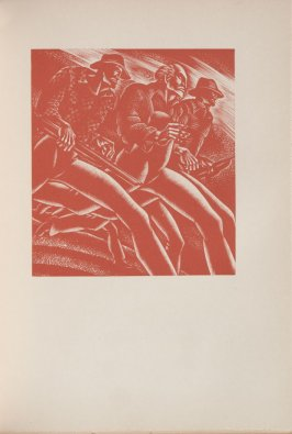 Untitled, illustration 40, in the book Wild Pilgrimage by Lynd Kendall Ward (New York: Harrison Smith & Robert Haas, 1932)