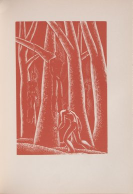 Untitled, illustration 41, in the book Wild Pilgrimage by Lynd Kendall Ward (New York: Harrison Smith & Robert Haas, 1932)