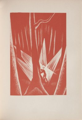 Untitled, illustration 42, in the book Wild Pilgrimage by Lynd Kendall Ward (New York: Harrison Smith & Robert Haas, 1932)