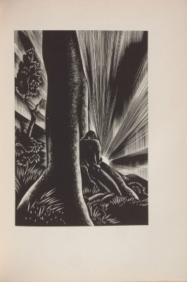 Untitled, illustration 43, in the book Wild Pilgrimage by Lynd Kendall Ward (New York: Harrison Smith & Robert Haas, 1932)