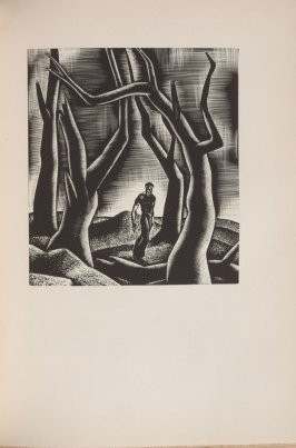 Untitled, illustration 45, in the book Wild Pilgrimage by Lynd Kendall Ward (New York: Harrison Smith & Robert Haas, 1932)