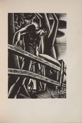 Untitled, illustration 48, in the book Wild Pilgrimage by Lynd Kendall Ward (New York: Harrison Smith & Robert Haas, 1932)