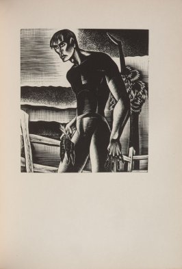 Untitled, illustration 49, in the book Wild Pilgrimage by Lynd Kendall Ward (New York: Harrison Smith & Robert Haas, 1932)
